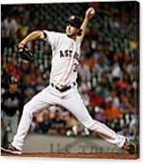 Atlanta Braves V Houston Astros Canvas Print