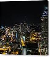 Atlanta City Lights Canvas Print