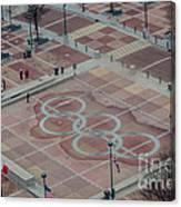 Atlanta Olympia Fountain Canvas Print