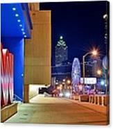 Atlanta Outside Cnn Canvas Print