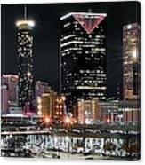 Atlanta Wide Angle Canvas Print