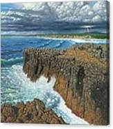 Atlantic Breakers Pontal Portugal Canvas Print