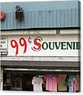 Atlantic City New Jersey - Souvenir Store Canvas Print