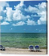 Atlantic Ocean At Smathers Beach In Key Canvas Print