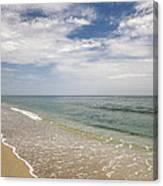Atlantic Ocean Beach V Canvas Print