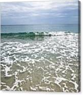 Atlantic Ocean Surf Canvas Print