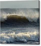 Atlantic Ocean Wave Canvas Print