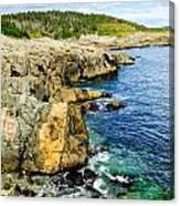 Atlantic Shoreline Canvas Print
