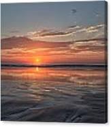 Atlantic Summer Sunrise Canvas Print