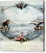 Atlantic Telegraph Cable Canvas Print
