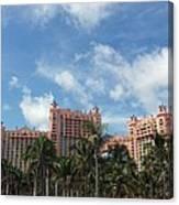 Atlantis Resort At Paradise Island Canvas Print