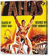 Atlas, Us Poster, Michael Forest Canvas Print