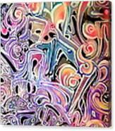 Atom Smasher Canvas Print