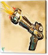 Atomic Blaster Canvas Print