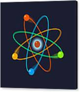 Atomic Structure Canvas Print