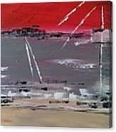 Atterrissage En Soiree Canvas Print
