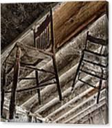 Attic Seating Canvas Print