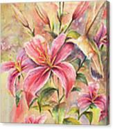 Attractive Fragrance Canvas Print