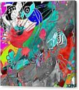 Attributes Of Aggression Three Canvas Print