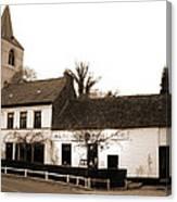 Auberge De La Roseraie Canvas Print