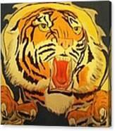 Auburn Tiger Canvas Print