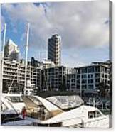 Auckland City View Canvas Print