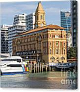 Auckland Ferry Terminal Canvas Print