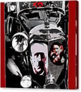 Auction  Sale  Of Adolf Hitler's Model 770-k 1941 Mercedes-benz Touring Car In Scottsdale Az 1973  Canvas Print