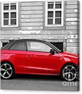 Audi A1 Car Canvas Print