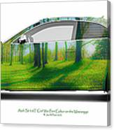 Audi S5 Coupe Mississippi Fort Cobun  Canvas Print