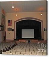 Auditorium In Clare Michigan Canvas Print