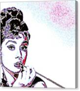 Audrey Hepburn 20130330 Canvas Print