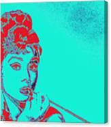 Audrey Hepburn 20130330v2p128 Canvas Print