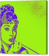 Audrey Hepburn 20130330v2p38 Canvas Print