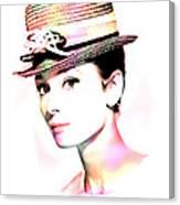 Audrey Hepburn 6 Canvas Print