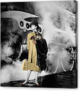 Audrey Hepburn 7 Canvas Print