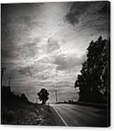Auf Dem Heimweg Canvas Print