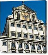 Augsburg Townhall - Rathaus Canvas Print