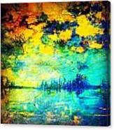 August Evening Canvas Print