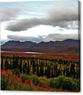 August In Alaska Canvas Print