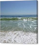 August Ocean Canvas Print