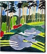 Augusta 10th Georgia Canvas Print