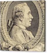 Augustin De Saint-aubin After Charles-nicolas Cochin II Canvas Print