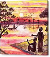 Auld Lang Syne Canvas Print