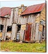 Aunt Olive's House Canvas Print