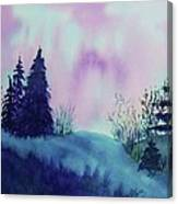Aurora Borealis I Canvas Print