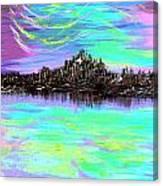 Aurora Borealis Poster Canvas Print