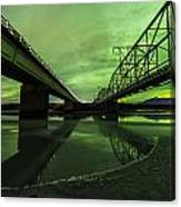 Aurora Bridge Canvas Print