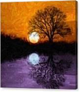 Aurora Goddess Of The Dawn Canvas Print