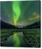 Aurora Valley Canvas Print